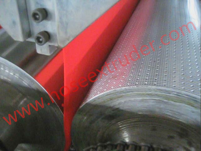 PVC Mat with Solid Anti-skidding Backing Sheet Extrusion Line