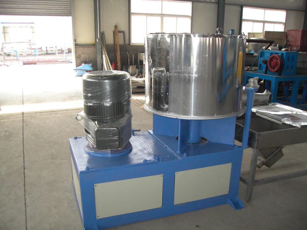 Mixer for PVC Resin